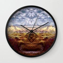 Death Valley I Wall Clock
