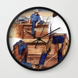 Live and Learn Wall Clock