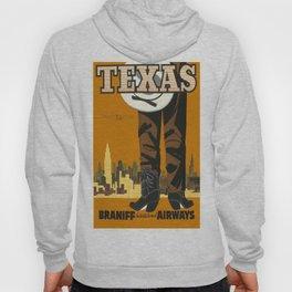 Vintage poster - Texas Hoody