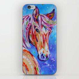 Cinnamon - Palamino Horse Art iPhone Skin