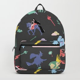 Myths // traditions pattern Backpack