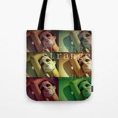 Strange Model Tote Bag