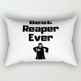 Grim Reaper Saying Rectangular Pillow