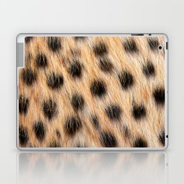 Animal Print Pattern Real Cheetah Fur Pattern Laptop & iPad Skin