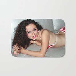 USA Girl Bath Mat