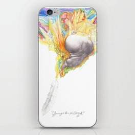 You've Got the Right Attitude! iPhone Skin