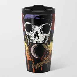 """Hip Hop Horror"" by Cap Blackard Travel Mug"
