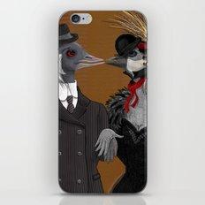 Demoiselle Crane and Grey Crowned Crane iPhone & iPod Skin
