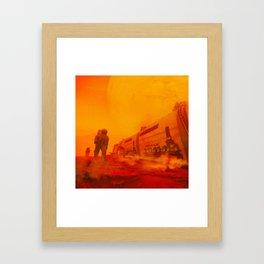 BADASS (everyday 08.08.17) Framed Art Print