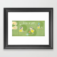 Seeds of Love Framed Art Print