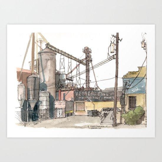 Jensen & Pilegard Art Print