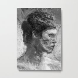 Man from Nowhere Metal Print