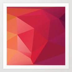 Geometric Mix 5 Art Print