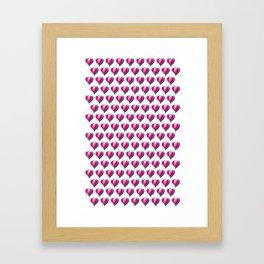 Kid Icarus Hearts x144 Framed Art Print