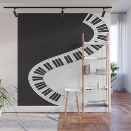 PIANO KEYS Pop Art Wall Mural