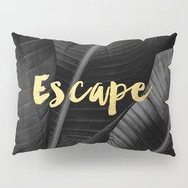 Escape - gold Pillow Sham