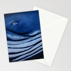 blue giant of the ocean Stationery Cards