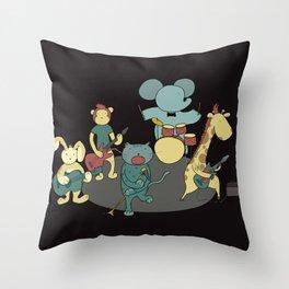 AnimoRock Throw Pillow