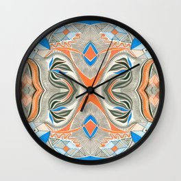 Clowning Around 3 Symmetrical design Wall Clock