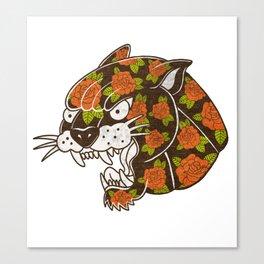 Rose Panther Canvas Print