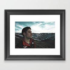 Mountain Bliss Framed Art Print