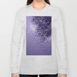 ULTRA VIOLET Glitter Dream #1 #shiny #decor #art #society6 Long Sleeve T-shirt
