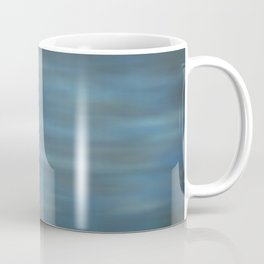 Abstract Soft Watercolor Blend Graphic Design 12 Black, Dark Blue and Light Blue Coffee Mug