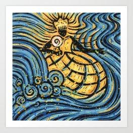Orixás - Oxum Art Print