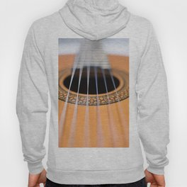 Strings of the guitar above the rose window Hoody
