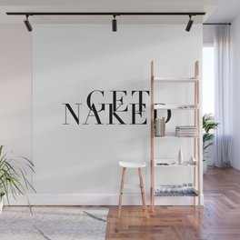 Get Naked Caps Wall Mural