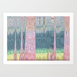 The Beautiful Scenery Art Print