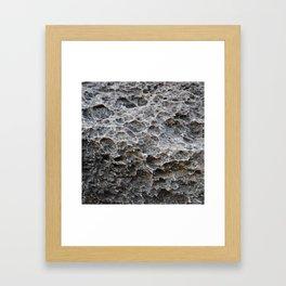 Grand Canyon Rock Texture Framed Art Print