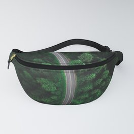 green forest Fanny Pack