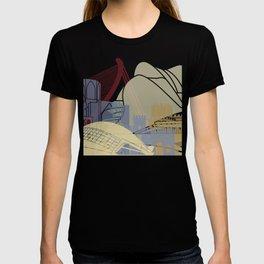 Valencia skyline poster T-shirt