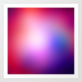 Cosmic Gradient Art Print