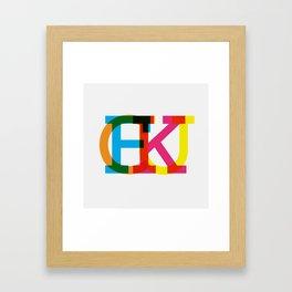 protect ya rep Framed Art Print
