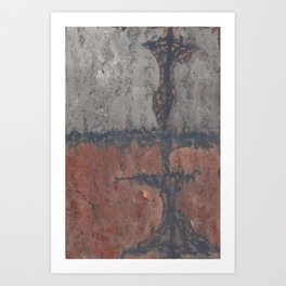 2017 Composition No. 40 Art Print
