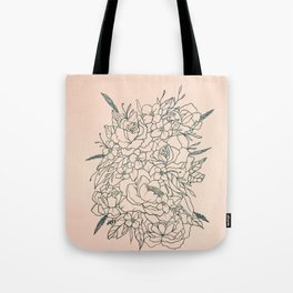 Bouquet series Tote Bag