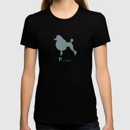 Poodle Blue | Dogs T-shirt