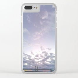 Extra Sky Clear iPhone Case