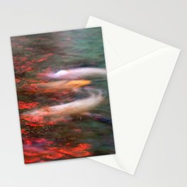 A dream of koi Stationery Cards