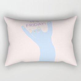 THANK MEOW IT'S FRIDAY Rectangular Pillow