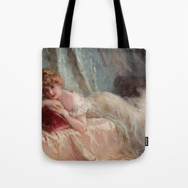 Idle Woman (1906) Tote Bag