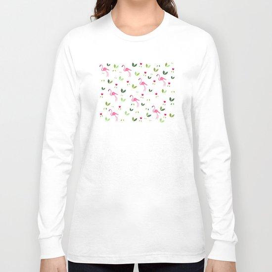 Flamingos and company Long Sleeve T-shirt