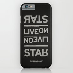 Palindrome: Rats Live On... Slim Case iPhone 6s