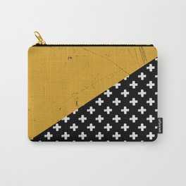 Swiss crosses (grunge) Carry-All Pouch