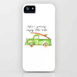 Green Truck iPhone Case