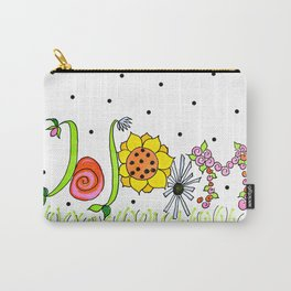 Mary's Bloom Carry-All Pouch