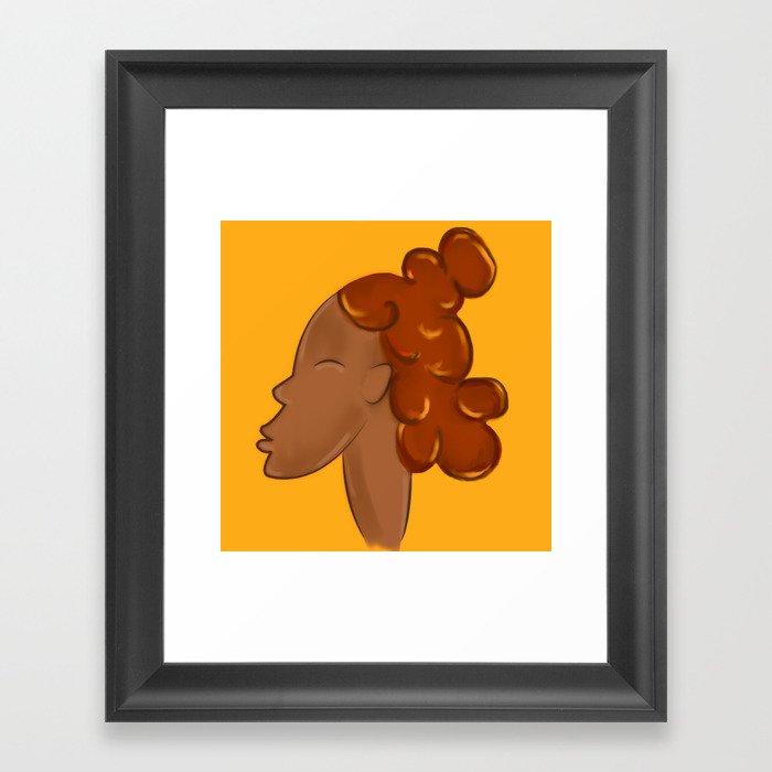 CROWN - SUN Framed Art Print