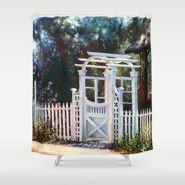 Heaven's Gate Shower Curtain